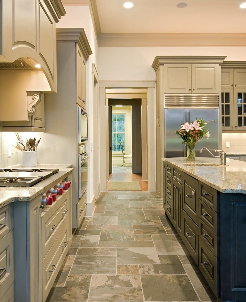 photo of a remodeled kitchen