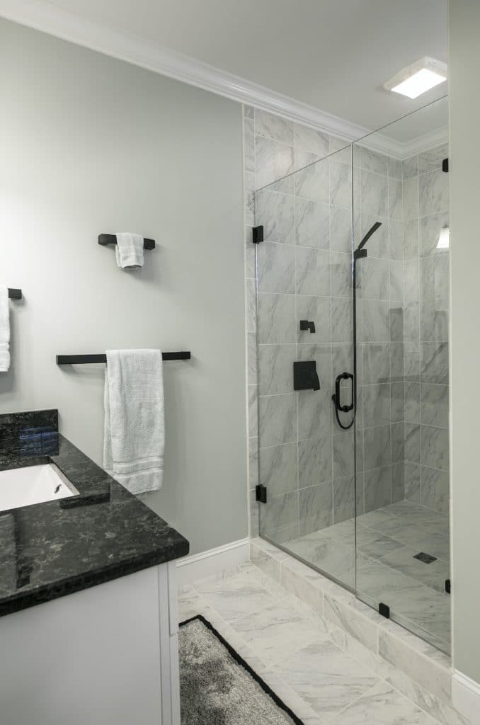 photo of a remodeled bathroom